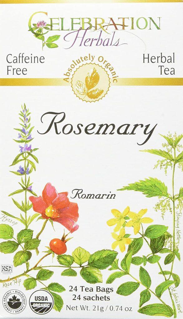 Celebration Herbals Organic Rosemary Leaf Tea Caffeine Free