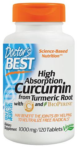 Doctor's Best Curcumin C³ Complex -- 1000 mg