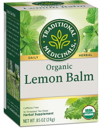 Traditional Medicinals Herbal Tea Organic Lemon Balm